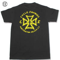 Cycle Zombies(サイクルゾンビーズ) TRIBAL Standard S/S T-Shirt Black