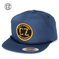Cycle Zombies(サイクルゾンビーズ) CALI ROPE Premium Golf Snapback Navy