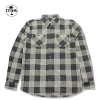 THRILLS(スリルズ) OVERDYED ネルシャツ