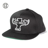 Cycle Zombies(サイクルゾンビーズ) WINGER Premium Twill Snapback Black