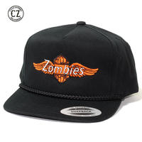☆送料無料☆Cycle Zombies(サイクルゾンビーズ) ROADSIDE Premium Poplin Golf Snapback Black
