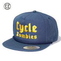 Cycle Zombies(サイクルゾンビーズ)BLITZKRIEG Premium Poplin Golf Snapback ネイビー
