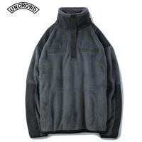 UNCROWD(アンクラウド) UC-503-019 MILITARY FLEECE PULLOVER  SLT