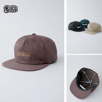 BLUCO(ブルコ) OL-213-021 FULL PANEL CAP-sams logo- 全4色(ブラック・ブラウン・カーキ・ネイビー)