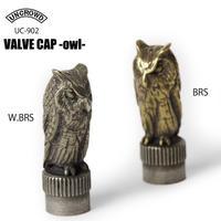UNCROWD(アンクラウド) UC-902 VALVE CAP -owl-