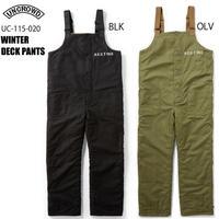UNCROWD(アンクラウド) UC-115-020 WINTER DECK PANTS 全2色(ブラック/オリーブ)