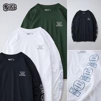 BLUCO(ブルコ) OL-804-021 L/S TEE'S-Bwg- 全3色(ブラック・ホワイト・グリーン)