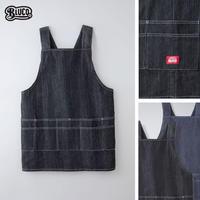 BLUCO(ブルコ) OL-400-021 WORK APRON 全2色(ブラック・インディゴ)