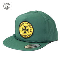 Cycle Zombies(サイクルゾンビーズ) CLOCK WORK Premium Poplin Golf Snapback Green