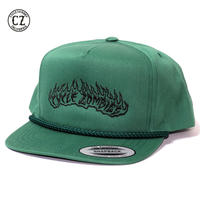 Cycle Zombies(サイクルゾンビーズ) LIT UP Premium Poplin Golf Snapback Spruce