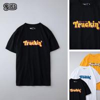 BLUCO(ブルコ) OL-801-021 PRINT TEE'S -Trukin'- 全3色(ブラック・ホワイト・イエロー)