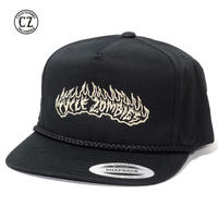 Cycle Zombies(サイクルゾンビーズ) LIT UP Premium Poplin Golf Snapback Black