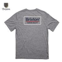BRIXTON(ブリクストン) PALMER S/S TEE グレー