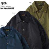 BLUCO(ブルコ)OL-051-021 BOA COACH JACKET 全3色(ブラック・ネイビー・オリーブ)