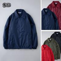 BLUCO(ブルコ) 050-021 NYLON COACH JACKET 全5色(ブラック・バーガンディ・オリーブ・ネイビー・レッド)