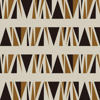 WALL PAPER/GEOMETRIC #001 brown