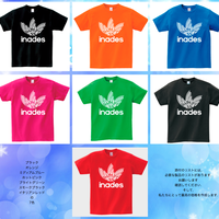 DJ-INAデザイン【inades a go go Tシャツ】