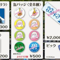 【waka コンプリート・セット】ステッカー・缶バッジ・タオル・ピック【まとめ買い価格】