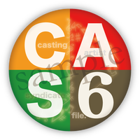Casting Artist Syndicate:CAS file.6【缶バッジ付】