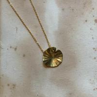 Nakamura Nazuki hasunoha necklace brass