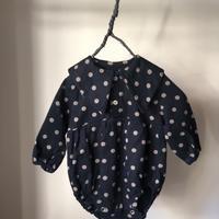 tita  大きな襟のカバーオール baby