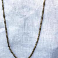 エチオピア真鍮ビーズネックレス