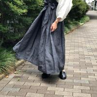 nuu プリーツラップスカート
