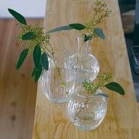 リューズガラス  クーレライン フラワーベース ポム
