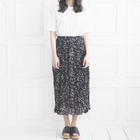 ドット風ロングスカート P01-S027