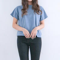 半袖リブTシャツ