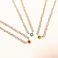newmoon?fullmoon?necklace-orange or yellow or blue sapphire-