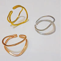 Happiness of the loop earcuff