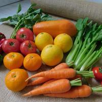 【お試し商品】栄養たっぷりスムージー12品目セット(宮崎産パパイヤとお野菜とくだもの)