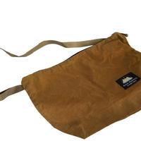 BUCK PRODUCTS SHOULDER BAG WAX バックプロダクツ ハンドメイド ショルダーバッグ カバン モンタナ ボーズマン アウトドア