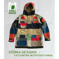 シェラデザイン パッチワーク マウンテンパーカー SIERRA DESIGNS PATCHWORK MOUNTAIN PARKA