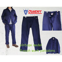 OUVERT(オヴェール)pantalons vintage model french work jacket