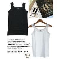 HENRI Ladies Lace Thin Strap Undershirt 866 アンリ 肩レースキャミソール
