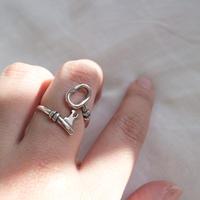 last1 [silver925] key ring