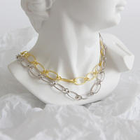 [silver925] chain  choker