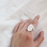 [silver925] wide oval ring