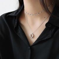 last1 [silver925] chain  choker