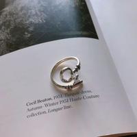 [silver925] key ring