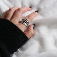 last1 [silver925] wire layered ring