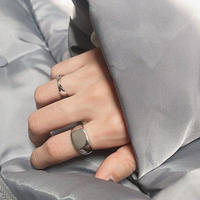 last1 [silver925] square face ring