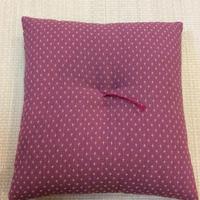 Small floor cushion(Kauri-sashiko) / 小座墊 (絣刺子)