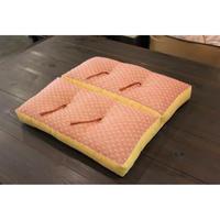 Folding chusion / 折れ座布団 / 折叠式墊子 (絣刺子)