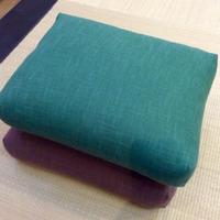 Ringai(Meditation cushion)/ 坐禪用長方形坐墊 (りんざい)(むら糸)