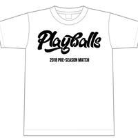 2018年オープン戦Tシャツ