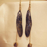 【トンボ】Dragonfly Pierce - Dark Purple -