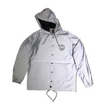 SPITFIRE / CLASSIC SWIRL HI VIS REFLECTIVE HOODED JACKET